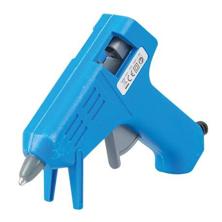 Mini Pistolet Silverline à colle chaude électrique petit modèle