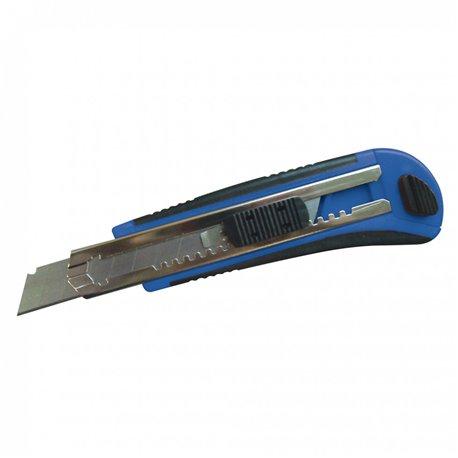 Cutter à lame bleu sécable lame 18mm