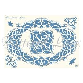 Grille parchemin motifs Tattered Lace 42 Luna