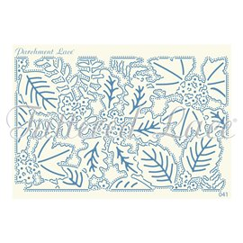 Grille parchemin motifs Tattered Lace 41 Manda