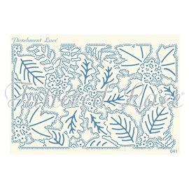 Grille parchemin motifs Tattered Lace 41 Manda