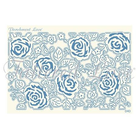 Grille parchemin motifs Tattered Lace 40 Romy
