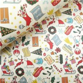 Papier tassotti à motifs cadeau de noel