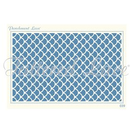 Grille parchemin motifs Tattered Lace 39 Cate