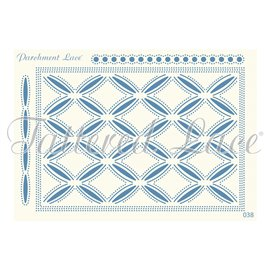 Grille parchemin motifs Tattered Lace 38 Esme