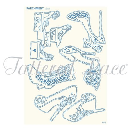 Grille parchemin motifs Tattered Lace 52 Glamour Shoes