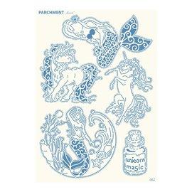 Grille parchemin motifs Tattered Lace 62 Fée
