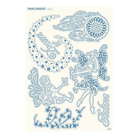 Grille parchemin motifs Tattered Lace 63 Dreams