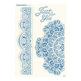 Grille parchemin motifs Tattered Lace 56 Broderies