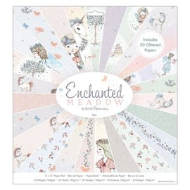 Papier scrapbooking assortiment enchanted meadow 50fe