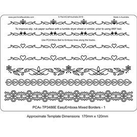 Template PCA gabarit traçage 7 frises