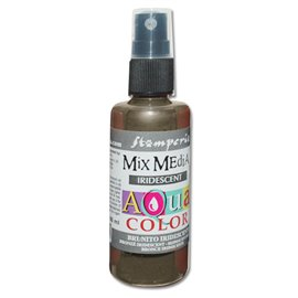 Peinture spray Mix Media Aqua color bronze irisé 60ml