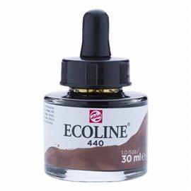 Encre aquarelle Ecoline liquide sepia Talens sepia deep 440