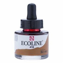 Encre aquarelle Ecoline liquide sepia Talens 416