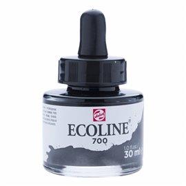 Encre aquarelle Ecoline liquide noir Talens 700