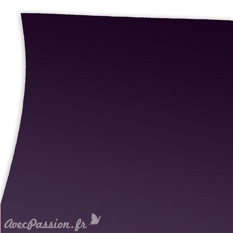 Papier uni prune imitation touché de la peau