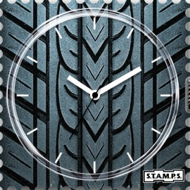 Montre Stamps cadran de montre speed urban