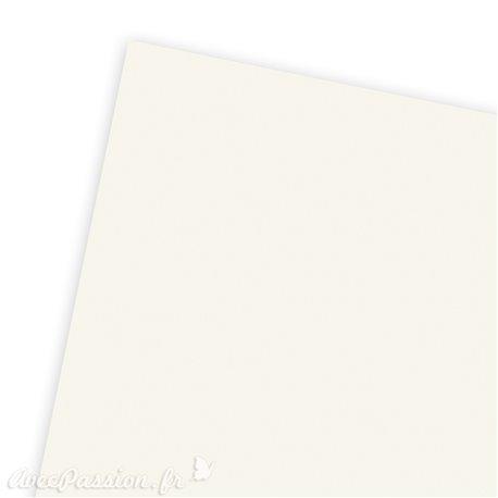 Papier uni tiziano crème 50x70