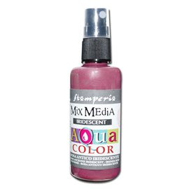 Peinture spray Mix Media Aqua color rose vif antique 60ml