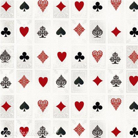 Papier italien motifs cartes à jouer