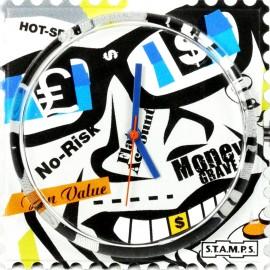 Montre Stamps cadran de montre fun value urban