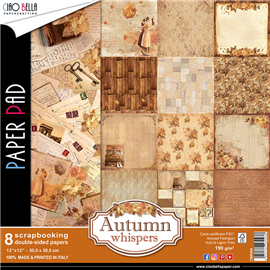 Papier scrapbooking assortiment autumn 8fe