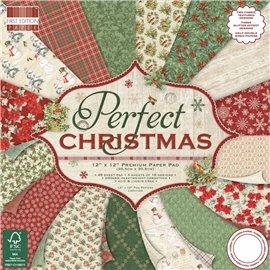 Papier scrapbooking assortiment noël perfect christmas 48fe