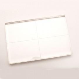 Bloc acrylique gradué pour tampons clear stamps