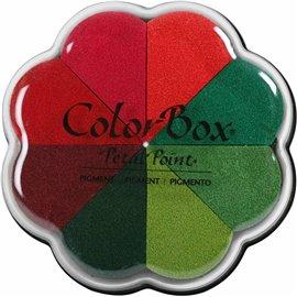 Encreur Clearsnap Color Box palette couleurs noël