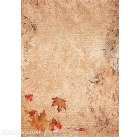Papier de riz Ciao autumn breeze 22x32cm