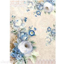 Papier de riz Ciao Bella il giardino di lucrezia 22x32cm