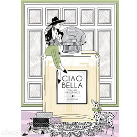 Papier de riz Ciao Bella fragrance 22x32cm