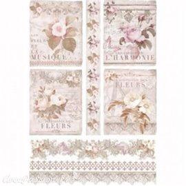 Papier de riz Renkalik la symphonie des fleurs 31x45cm