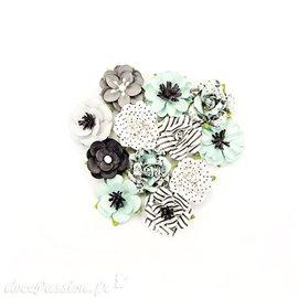 Fleurs Prima en papier flirty adoration Embellissement 12p
