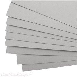 Encadrement Carton gris carton de fond 3mm 60x80cm