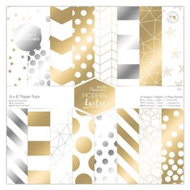 Papier scrapbooking 15x15 assortiment papermania 36f