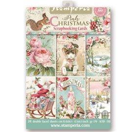 Etiquettes décoratives pink christmas