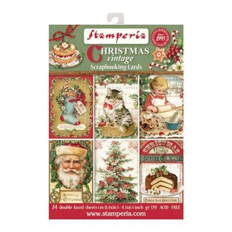 Etiquettes décoratives christmas vintage