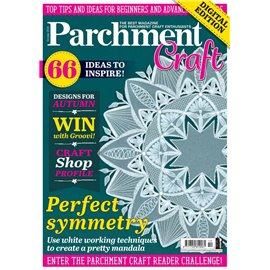 Parchment Craft magazine Pergamano octobre 2018