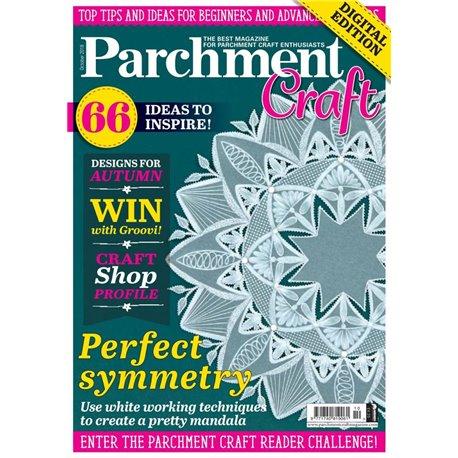 Parchment Craft magazine Pergamano octobre 2018