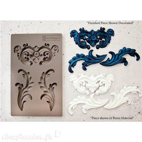Moule Prima ReDesign en silicone flexible Everleigh Flourish