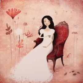 Carte postale Anne Julie Aubry un thé au paradis
