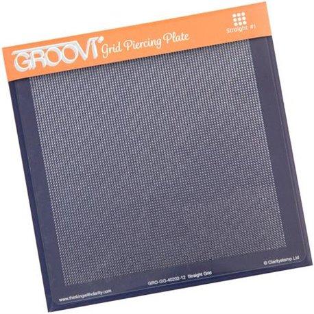 Gabarit pour piquer le parchemin gabarit droit Groovi
