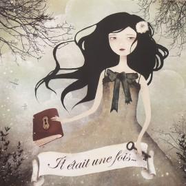 Carte postale Anne Julie Aubry il était une fois