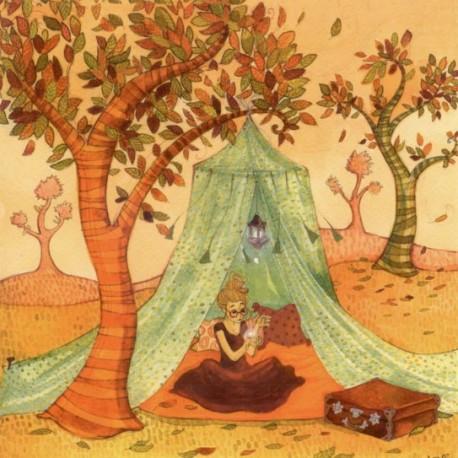 Carte postale Anne Soline le petit chapiteau