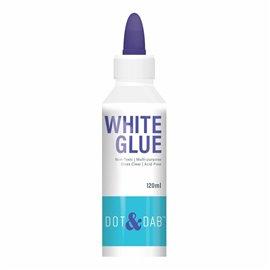 Colle vinylique blanche Dot & Dab flacon pointe très fine 120ml