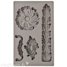 Moule décoratif IOD Iron Orchid Designs en silicone flexible Renaissance