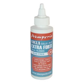 Colle vinylique blanche extra forte flacon pointe fine 120ml