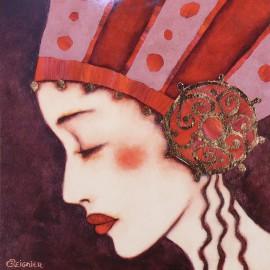 Carte postale Corinne Reignier yasmina