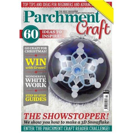 Parchment Craft magazine Pergamano novembre 2018